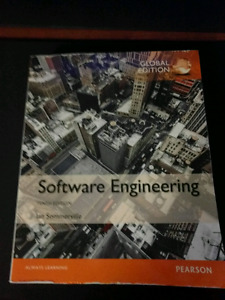 Software Engineering textbook - Ian Sommerville