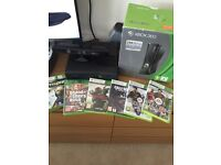 Xbox 360 with 7 games and Kinect