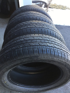 4 tires 4 saisons Kumho Solus 225/60r17