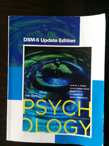The World of Psychology (7th Canadian Edition) Kingston Kingston Area image 1