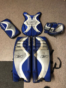 FS: RBK Branded Ball Hockey Goalie set with Goalie Mask