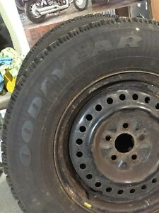 Only 2 mounted 205/75R14 G//Y Nordic  Peterborough Peterborough Area image 3
