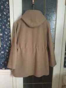 J Crew size 14 camel colour wool winter jacket with hood Regina Regina Area image 2