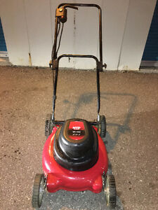 """MTD Yard Machines 19"""" Electric Corded Lawnmower 2 in 1 WITH Bag"""