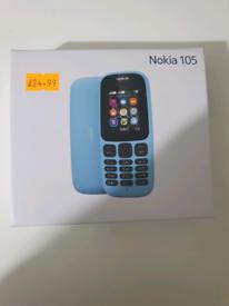 Nokia 105 - Brand new - Dual SIM