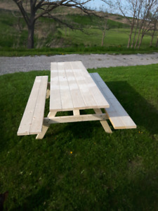 dutch handmade Picnic tables best around professionaly made
