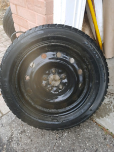 205/55/16 winter tire on rim