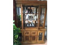 Large Mirrored and Glass display cabint