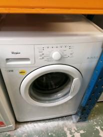 6kg load Whirlpool washing machine 3 months warranty at Recyk Applianc