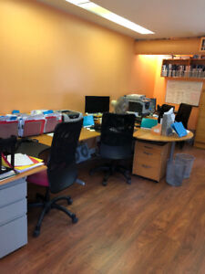 Furnished Office Space For Rent in the Granville & Broadway Area
