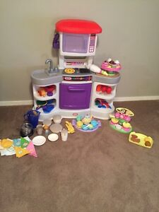 Little Tykes Kitchen Play set and assorted accessories