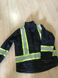 Professional Viking insulated Journeyman 300D FR jacket - XL