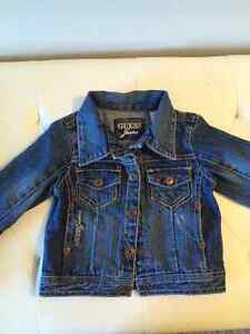Guess Baby girl jean jacket, 6-9months