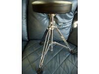 FULL SIZE AND ADJUSTABLE THRONE STOOL