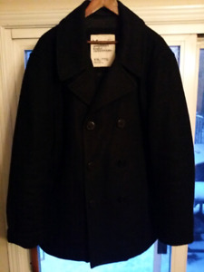 Men's American Eagle Outfitters Navy Peacoat XXL