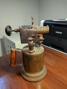 Antique Brass Blow Torch