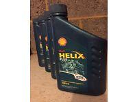 Shell helix plus oil 10w-40
