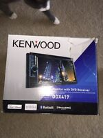 Kenwood 6.1 touch screen deck.