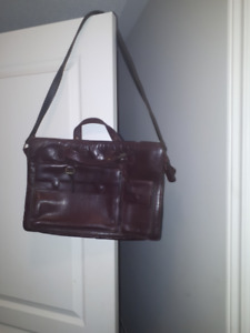Genuine Leather Bag - Great condition