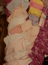 Girl new underwear and vests 4 to 5 years.
