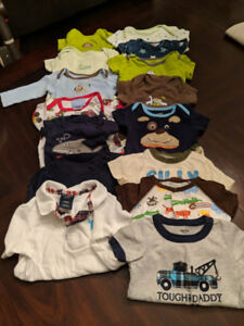 Baby BOY clothes, 0-6 months