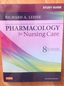 Pharmacology for nursing care: study guide Cornwall Ontario image 1