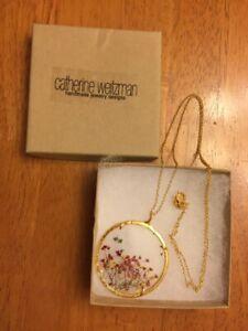 Catherine Weitzman XLG Botantical Necklace (New)