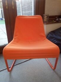 IKEA orange relax chair