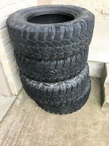 "4x32"" mud tires for a jeep."