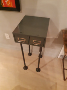 Library Cabinet Side Table