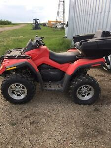 Can am 800 outlander  xt quad