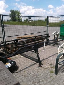 Ladder rack for full sized truck