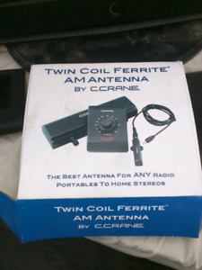 Twin Coil Ferrite AM Antenna by C.Crane