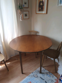 MCM table and chairs