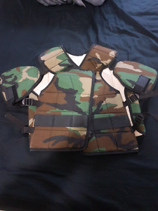 Paintball/milsim/airsoft protective armour