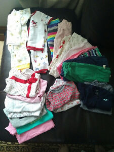 Girls lot. 28 item Most 3-6 mths, 6-12 mth. Excellent condition