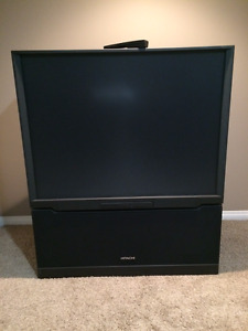 "FREE HITACHI 50"" REAR PROJECTION TV!"