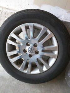 225/60/R17  Michelin All Season Tire on OEM Alloy RIMS for Sale