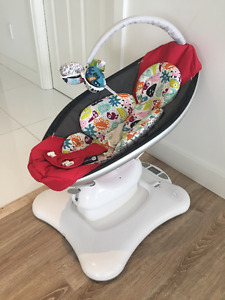 4moms mamaRoo Infant Seat Red