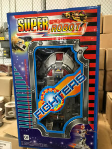 Super Robot Future Fighters King (remote    control included)