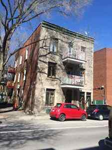 July 1st - 4 BR Large 1350 sf 6 1/2 Plateau Mont-Royal Parc