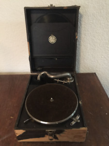 1920's Crank Record Player