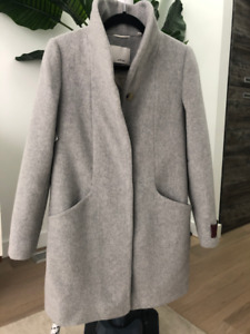 Wilfred Cocoon Coat Grey XS