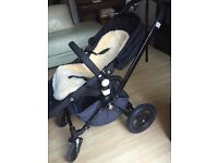 Bugaboo black frame second edition