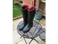 Aigle Parcours ISO 2 Wellington boots size 11 / 46