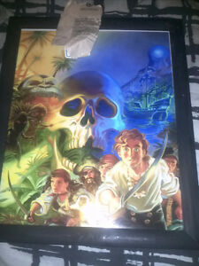 Purcell Comic Art Print Framed