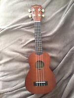 Mahalo Ukulele with box and stand!