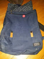 Blue backpack by Dusty