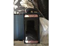 Samsung s7 edge rose gold Tesco mobile