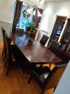 Set de cuisine 6 chaises